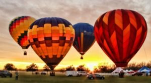 The Sky Will Be Filled With Colorful And Creative Hot Air Balloons At The Victory Cup In Texas