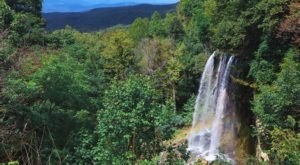 Experience Falling Spring Falls, One Of Virginia's Most Majestic Waterfalls, Without Traveling Far From Your Car