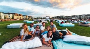 Watch Movies On A Mattress And Eat Unlimited Popcorn This Summer In Texas