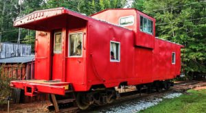 Spend The Night In An Authentic 1940s Railroad Caboose In Alabama