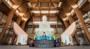 The Largest Buddha Statue In The Western Hemisphere Is At Chuang Yen Monastery In New York