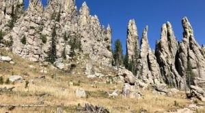 Take An Easy Out-And-Back Trail To Enter Another World At Cathedral Spires In South Dakota