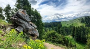 Take An Easy Out-And-Back Trail To Enter Another World At Drinking Horse Trail In Montana