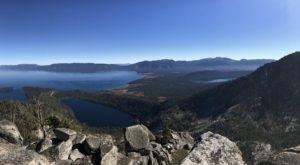 The Remote Hike To Maggie's Peaks In Northern California Winds Through A Pine Forest And Granite Lake