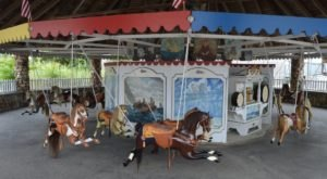 The Oldest Carousel In America Is Located Right Here In Rhode Island