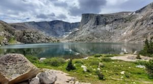 Take An Easy Out-And-Back Trail To Enter Another World At Lost Twin Lake In Wyoming