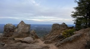 Reach New Heights When You Hike The 3.7-Mile Pinnacle Trail In North Carolina