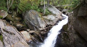 This 1-Mile Hike In Maine Ends At Cascade Stream Falls, A Waterfall You Need To See With Your Own Eyes