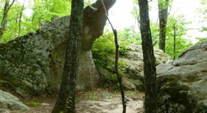 Take An Easy Loop Trail To Enter Another World At Ricketts Mountain In Arkansas