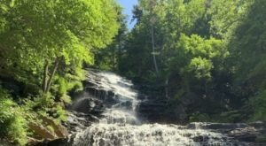 The Remote Hike To Lye Brook Falls In Vermont Winds Through The 15,680-Acre Lye Brook Wilderness