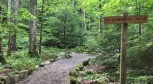 Take An Easy Out-And-Back Trail To Enter Another World At Thundering Brook Falls In Vermont