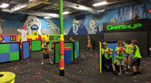 Texas' First Indoor Nerf Gun Arena Is Just As Much Fun As It Sounds