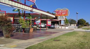 For Over 60 Years, Classic 50's Drive-In Has Been Serving Tasty Burgers And Milkshakes In Oklahoma