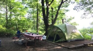 Pitch Your Tent At Loft Mountain Campground, A Secluded Spot In Shenandoah National Park
