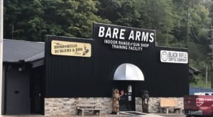 Visit A Military-Themed Diner Inside A Shooting Range In West Virginia For An Experience You'll Never Forget