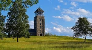 Hike To An Observation Tower With Stunning Panoramic Views At Quabbin Reservoir In Massachusetts