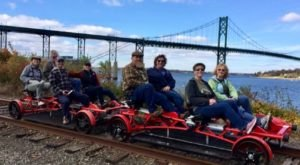 Experience The Railroad Like Never Before At Rail Explorers In Rhode Island