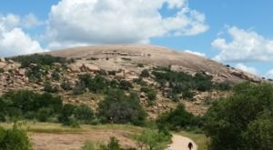 Take An Easy Out-And-Back Trail To Enter Another World At Enchanted Rock In Texas