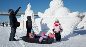 The Stunning Works Of Art At The Alaska State Snow Sculpture Championship Will Wow You