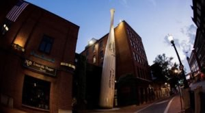 Take Home A Mini Bat And Celebrate Baseball Season At The Louisville Slugger Museum In Kentucky