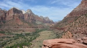 Take An Easy Loop Trail To Enter Another World At Zion National Park In Utah