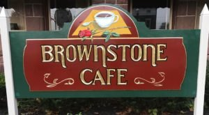 Enjoy A Scrumptious Meal In This Cozy Pennsylvania Restaurant Tucked In A Brown Stone Building
