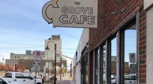 Rise and Shine With A Massive Pancake From Grove Cafe in Iowa