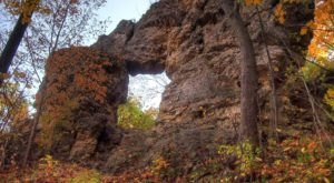 There Is A Natural Stone Arch In Minnesota, And You'll Find It At Frontenac State Park