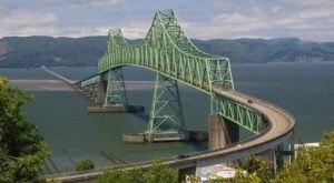 Built In 1966, The Astoria-Megler Bridge In Oregon Is The Longest Continuous Truss Bridge In North America