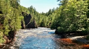 With Deep Gorges And Spectacular Waterfalls, Copper Falls State Park Is One Of The Most Scenic Places In Wisconsin