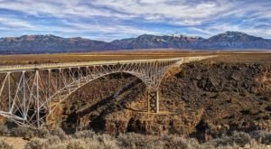 The Tallest, Most Impressive Bridge In New Mexico Can Be Found Near The Town Of Taos