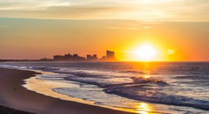 Catch A Live Beach Sunrise With These Webcams Placed Along New Jersey's Shore