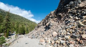 Visit The Mountain Made Completely Out Of Volcanic Glass At Obsidian Dome In Northern California