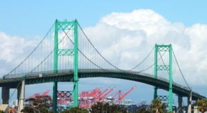 The Tallest, Most Impressive Bridge In Southern California Can Be Found In The Town Of San Pedro