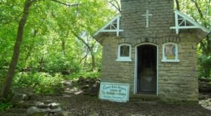 A Charming Chapel Hiding In The Woods, The Shrine Of St. Anthony Of Padua Is One Of Wisconsin's Best Kept Secrets
