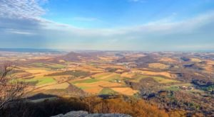 Appalachian Trail, Pinnacle Trail, Valley Rim, and Pulpit Rock Has Been Named Pennsylvania's Best Hiking Trail