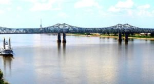 The Tallest, Most Impressive Bridge In Mississippi Can Be Found In The Town Of Natchez