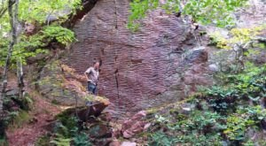 Walk Through 126 Acres Of Rock Formations At Wisconsin's Ableman's Gorge State Natural Area