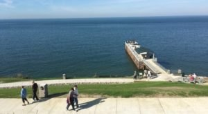 Painesville Township Park In Ohio Features A 200-Foot Boardwalk And Stunning Waterfront Views