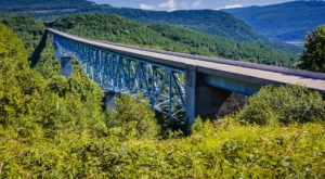 The Tallest, Most Impressive Bridge In Washington Can Be Found In The Town Of Toutle