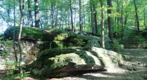 Beartown Rocks Is An Otherworldly Destination In Clear Creek State Park