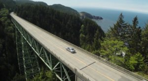 The Tallest, Most Impressive Bridge In Oregon Can Be Found In The Town Of Brookings