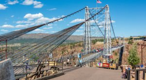 The Tallest, Most Impressive Bridge In Colorado Can Be Found In The Town Of Canon City