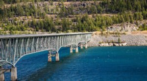 The Tallest, Most Impressive Bridge In Montana Can Be Found On Lake Koocanusa