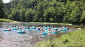 5 Lazy River Summer Tubing Trips In Pennsylvania To Start Planning Now