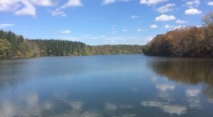 Peter's Trail Near Pittsburgh Will Take You On A Scenic Walk Through The Woods And To A Shimmering Lake