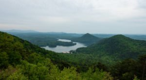 Marvel At The Beautiful Chilhowee Mountain Overlook In Tennessee Without Getting Out Of Your Car