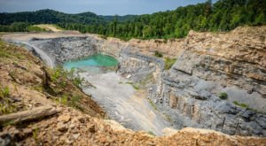 Hobet Mine Is A Startling, Desert-Like Wasteland In West Virginia That's Visible From Space