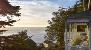 Overlooking The Ocean, Wharf Master's Inn Is An Idyllic Northern California Getaway From The 1800s