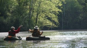 Take A Belly Boat Fishing Adventure In Ohio This Summer For A Unique Day Trip